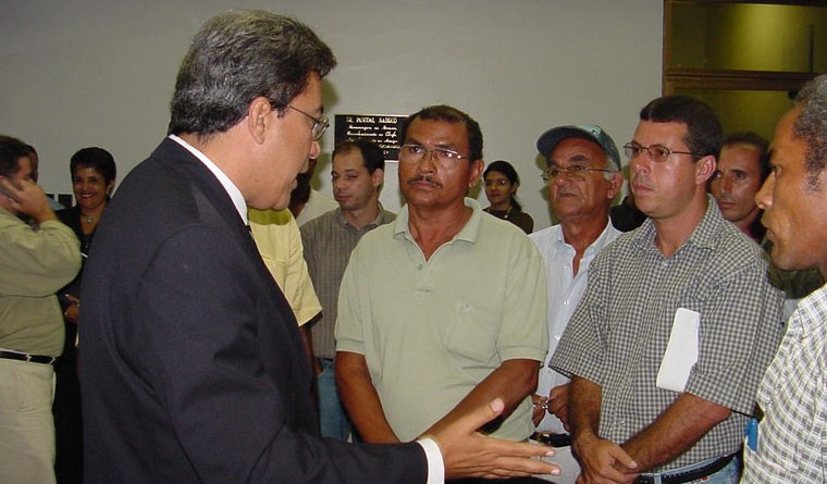 Déda reúne-se com prefeitos da grande Aracaju no Ministério Público