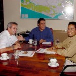 Prefeito recebe empresários da Comunicação - Agência Aracaju de Notícias  fotos: Abmael Eduardo