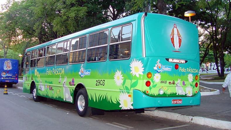Ônibus da Páscoa é apresentado à sociedade aracajuana