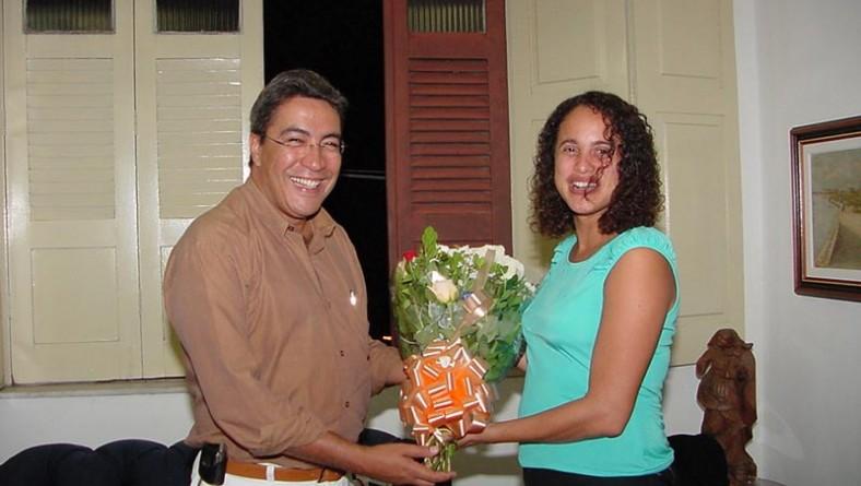 Prefeita de Olinda elogia limpeza e a beleza de Aracaju