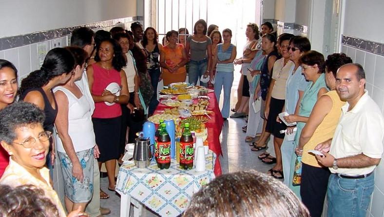 SMASC realiza festa de confraternização para aniversariantes do mês