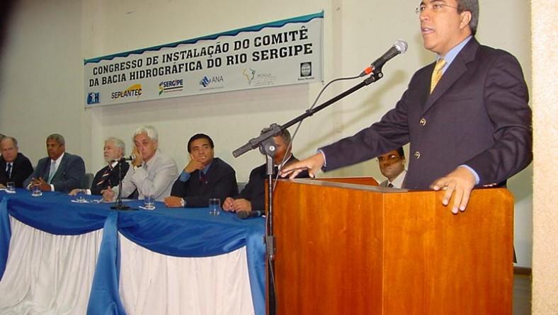 Prefeito participa de abertura dos trabalhos do Comitê da Bacia Hidrográfica do Rio Sergipe
