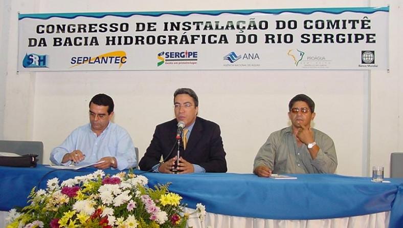 Prefeito é eleito para presidir Comitê da Bacia do Rio Sergipe