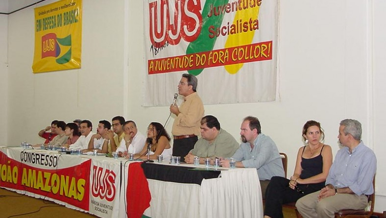 Prefeito participa da abertura do congresso da UJS