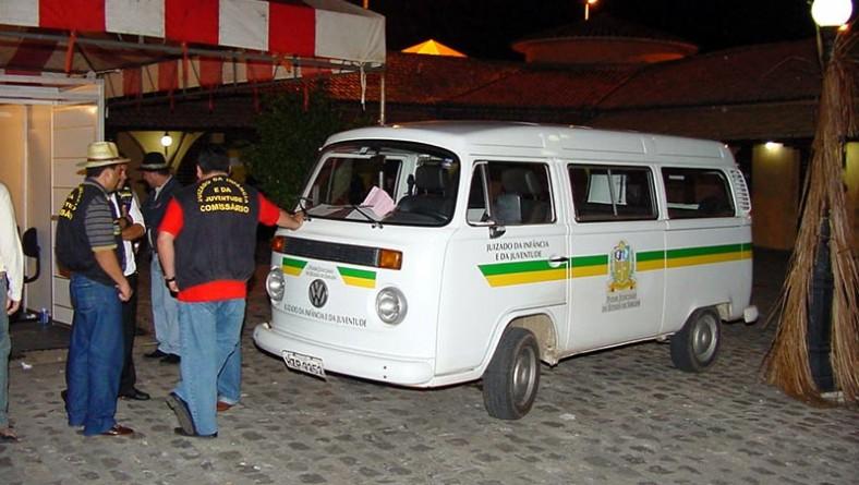 Crianças e adolescentes bem protegidos no Forró Caju