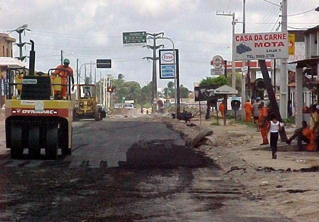 Avenida Euclides Figueiredo terá mais um trecho pavimentado