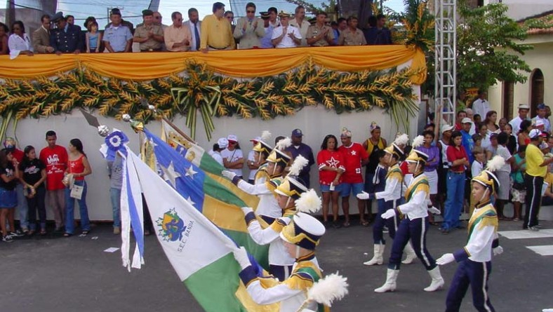 Desfile Cívico da rede municipal de ensino abre comemorações da Semana da Pátria em Sergipe