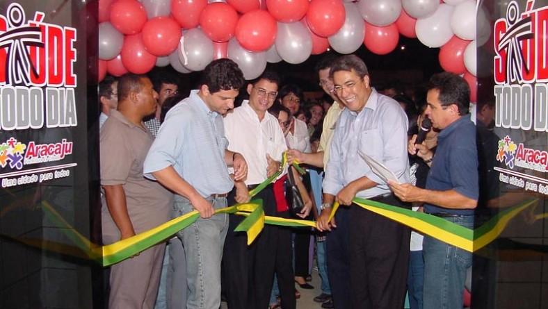 Unidade de Saúde do Siqueira Campos foi inaugurada na noite de hoje