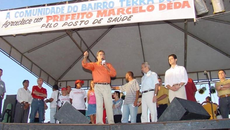 Comunidade do Santa Maria comemora inauguração de nova unidade de saúde