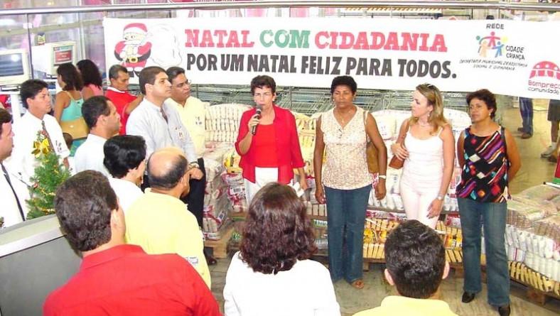 Parceria entre Prefeitura e Bompreço beneficiará mais de duas mil famílias com alimentos
