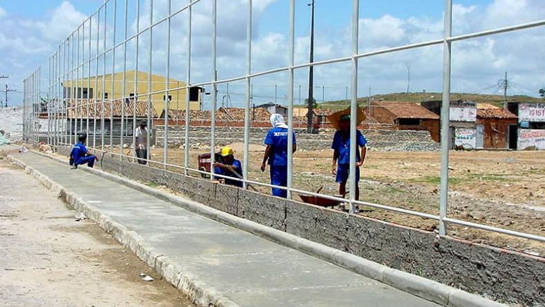 Obra no Anchietão trará de volta um dos principais palcos do futebol amador de Aracaju