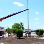 Urbanização de praça no Bugio está em fase de conclusão - Foto: Wellington Barreto  AAN  Agência Aracaju de Notícias