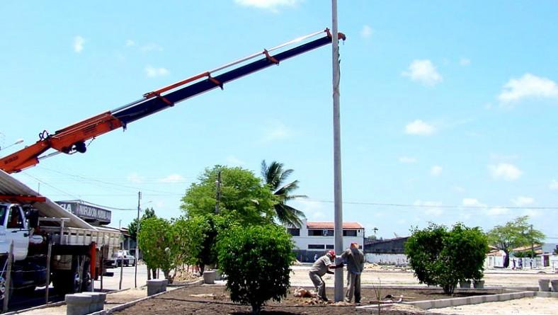 Urbanização de praça no Bugio está em fase de conclusão