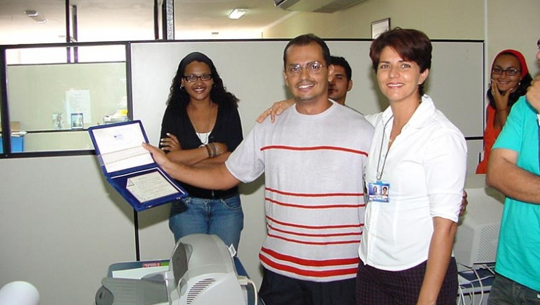Servidores da Secom prestam homenagem ao secretário Cristian Góes