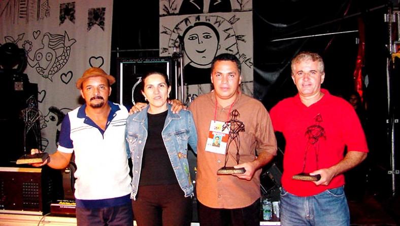 Chico Melodia fala do troféu Gerson Filho