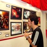 Imagens do Forró Caju 2003 permanecem expostas no Mirante da 13 de Julho - Fotos: Wellington Barreto  AAN  Clique na foto e amplie