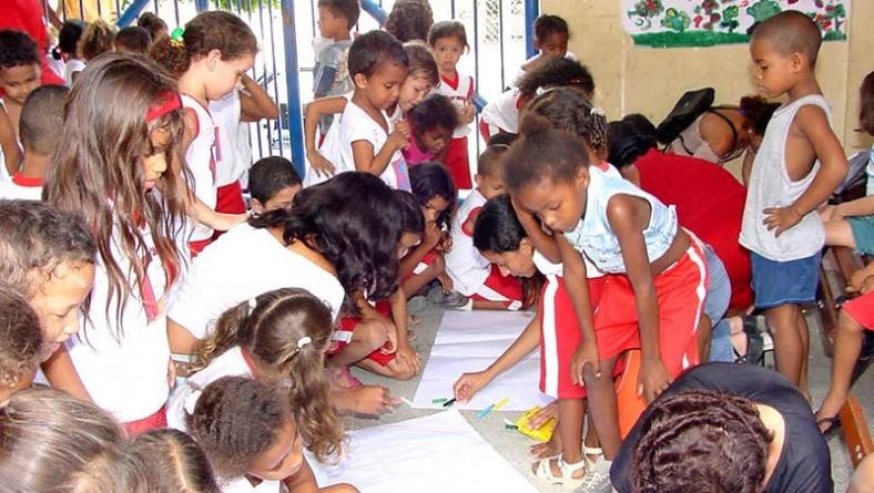 Crianças do Ensino Infantil participam de Gincana da Cidadania