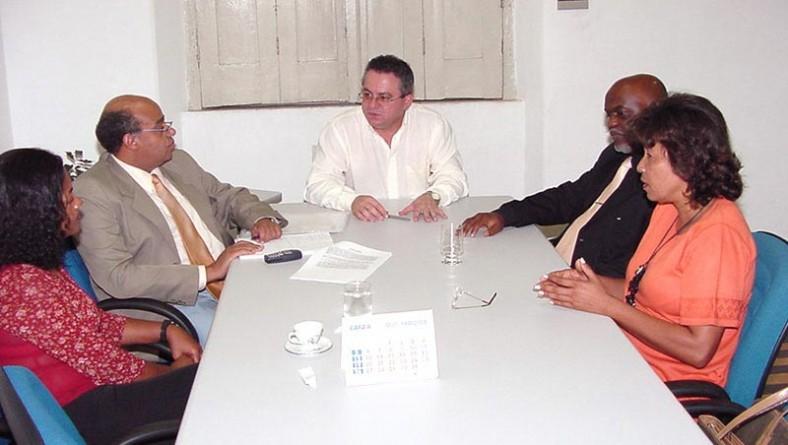 Secretário adjunto da Igualdade Racial visita a Prefeitura de Aracaju