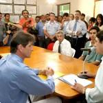 SMTT e Correios firmam parceria para comercialização do passe escolar - Fotos: Wellington Barreto  AAN  Clique na foto e amplie