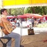 Minho San Liver participa hoje do Projeto Freguesia na praça Olímpio Campos  - Fotos: Abmael Eduardo  AAN  Clique na foto e amplie
