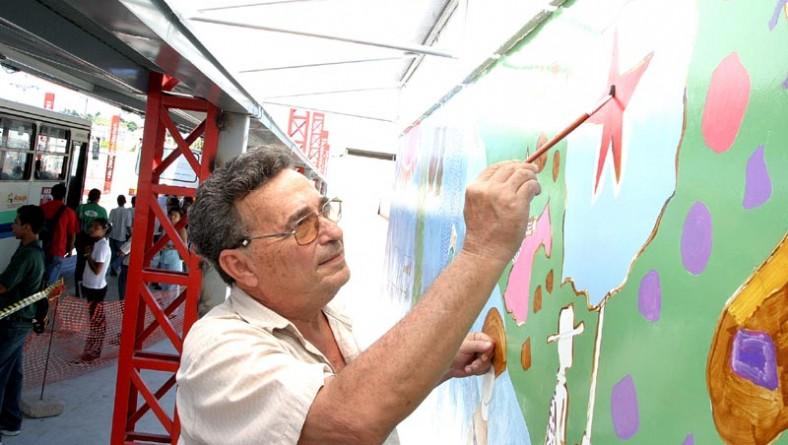 Painel que retrata a alma do povo sergipano fará parte da nova estrutura do terminal Visconde de Maracaju