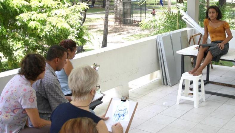Curso de desenho e pintura da galeria Álvaro Santos terá início em março
