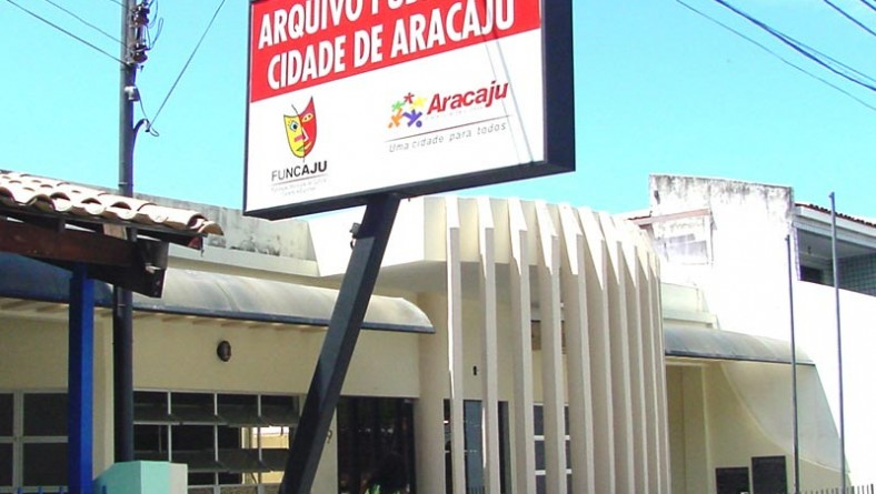 Memória oficial de Aracaju está guardada no Arquivo Público da Cidade