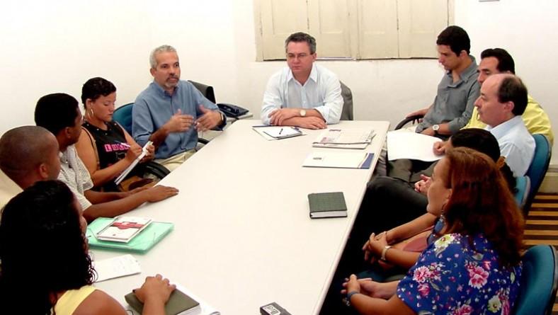 Reunião entre secretários e Sintasa discute melhorias para servidores da saúde
