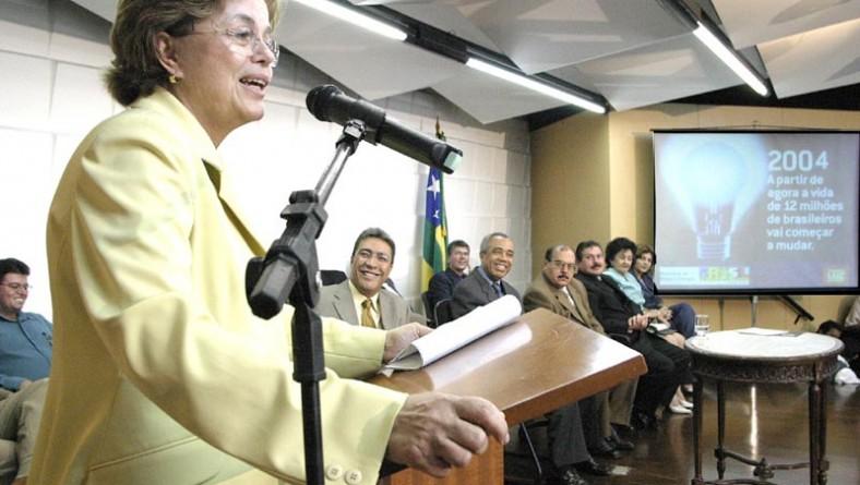 Prefeito participa do lançamento do projeto Luz Para Todos com a ministra de Minas e Energia