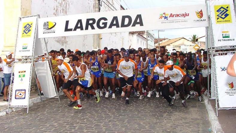 Inscrições para a 21ª corrida Cidade de Aracaju estão abertas