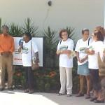 """Solenidade marca lançamento da Campanha """"Mangue é Vida"""" - Comunidade marcou presença na solenidade"""