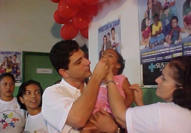 Campanha de Vacinação contra Poliomielite será aberta amanhã