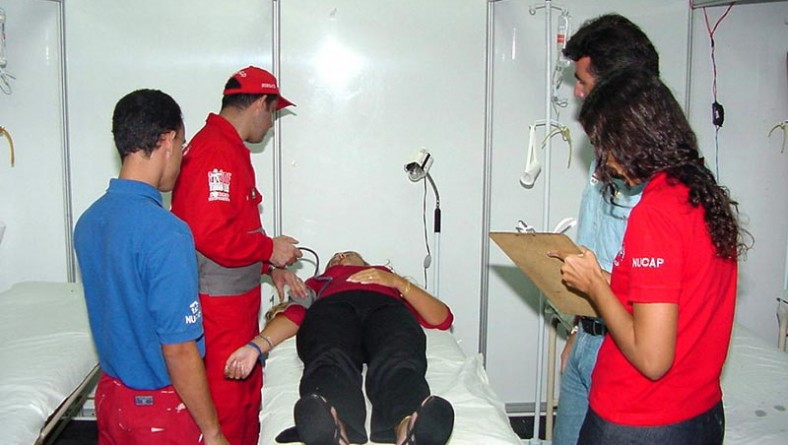 Samu vai garantir atendimento médico na área do Forró Caju