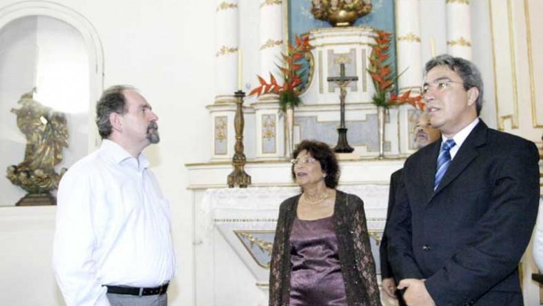Marcelo Déda participa da reabertura do Museu de Artes Sacras de São Cristóvão