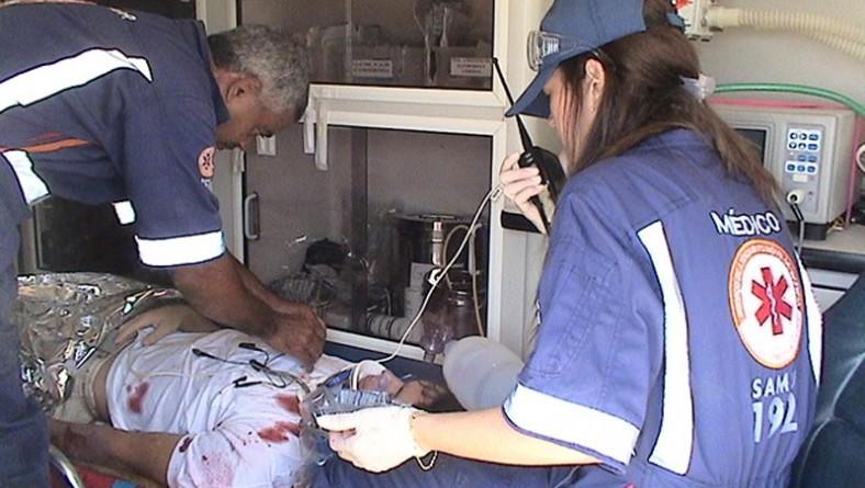 Equipe do Samu garantiu a segurança médica durante o Projeto Verão na Atalaia