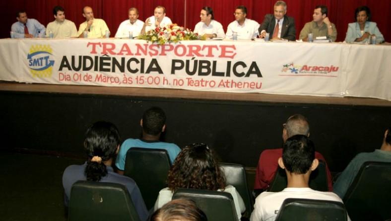 Prefeitura e população discutem a licitação do transporte público de Aracaju