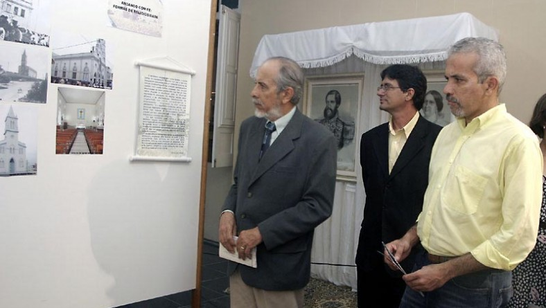 Exposição de imagens e documentos históricos contempla as comemorações sesquicentenárias