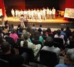 Crianças e adolescentes emocionam público no encerramento de atividades do projeto Tim ArtEducação - Fotos: Silvio Rocha