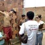 PMA amplia ações para transferência de famílias de área de risco no bairro Santa Maria - Fotos: Wellington Barreto