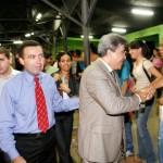 Prefeito participa da inauguração da Rádio Sara Brasil FM - Fotos: Márcio Dantas