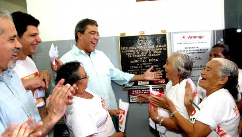 Prefeitura abre Campanha de Vacinação contra gripe e inaugura unidade de saúde Dr. Fernando Sampaio