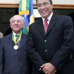 Prefeito participa de homenagem ao ministro do STJ José Arnaldo da Fonseca  - Fotos: Márcio Dantas