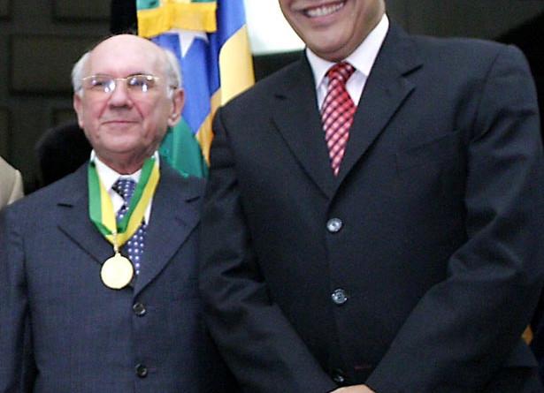 Prefeito participa de homenagem ao ministro do STJ José Arnaldo da Fonseca