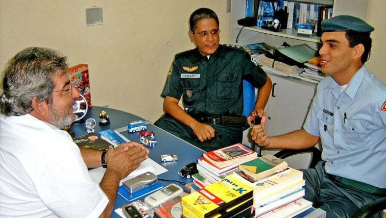 Secom vai disponibilizar à PM espaço para cobertura jornalística do Forró Caju 2005