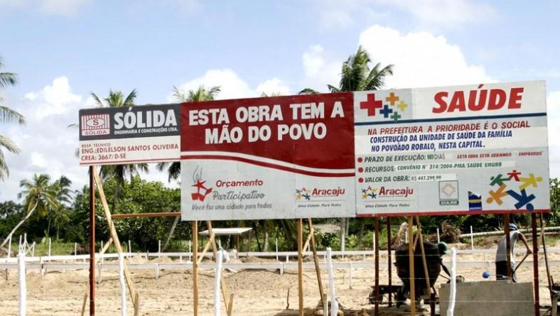 Nova Unidade de Saúde está sendo construída no povoado Robalo