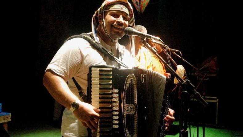 O forró não pára no palco Gerson Filho