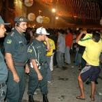 Polícia Militar confirma tranqüilidade do Forró Caju 2005 - Fotos: Sílvio Rocha