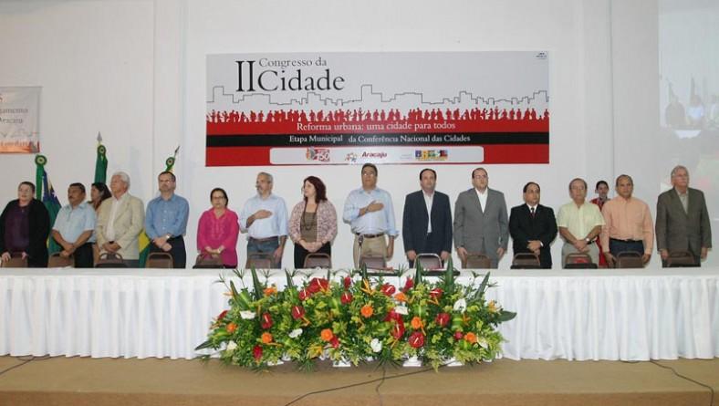 Congresso da Cidade é o maior instrumento de participação popular na definição dos rumos de Aracaju