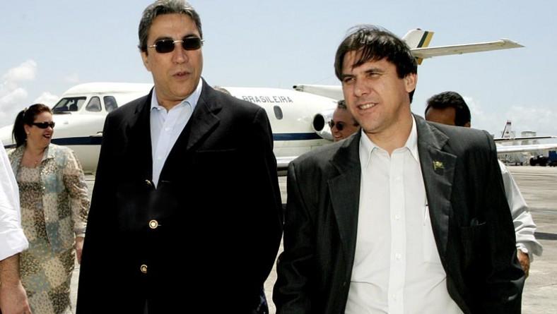 Prefeito recepciona ministro do Trabalho no aeroporto de Aracaju