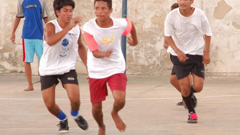 Festival de Futsal encerra atividades de unidade do programa Segundo Tempo
